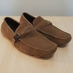 Reaction Kenneth Cole suede driver loafers 11.5